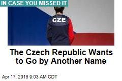 Czech Republic Adopts Catchier Name
