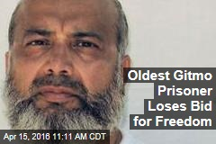 Oldest Gitmo Prisoner Loses Bid for Freedom