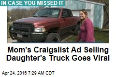 Mom's Craigslist Ad Selling Daughter's Truck Goes Viral