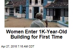 Women Finally Allowed in 1K-Year-Old Mosque