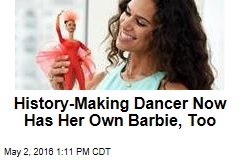 History-Making Dancer Now Has Her Own Barbie, Too