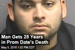 Man Gets 25 Years in Prom Date's Death