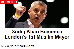 London Poised to Get First Muslim Mayor
