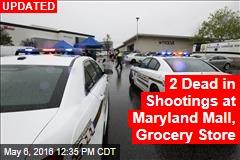 3 People Shot Outside Maryland Shopping Mall