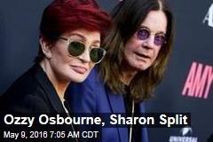 Ozzy Osbourne, Sharon Split