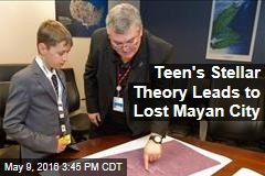 Teen's Stellar Theory Leads to Lost Mayan City