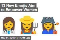 13 New Emojis Aim to Empower Women