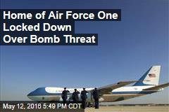 Home of Air Force One Locked Down Over Bomb Threat