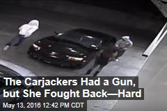 Woman Chases Off Carjackers With Guns