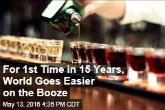For 1st Time in 15 Years, World Goes Easier on the Booze