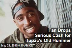 Fan Drops Serious Cash for Tupac's Old Hummer