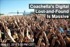 Coachella's Digital Lost-and-Found Is Massive