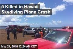5 Killed in Hawaii Skydiving Plane Crash