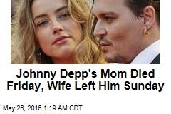It's Splitsville for Johnny Depp