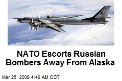 NATO Escorts Russian Bombers Away From Alaska