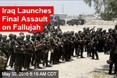 Iraq Launches Final Assault on Fallujah
