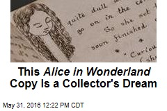 This Alice in Wonderland Copy Is a Collector's Dream