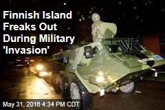 Finnish Island Freaks Out During Military 'Invasion'