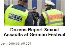 Dozens Report Sexual Assaults at German Festival