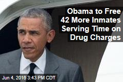 Obama to Free 42 More Inmates Serving Time on Drug Charges