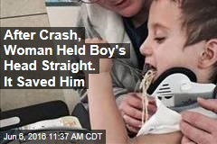 Family Credits Woman's Actions After Crash for Saving Boy's Life