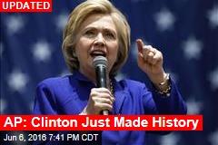 AP: Clinton Just Made History