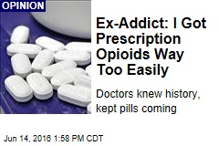Ex-Addict: I Got Prescription Opioids Way Too Easily