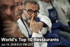 World's Top 10 Restaurants