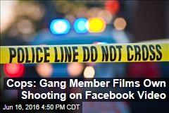 Cops: Gang Member Films Own Shooting on Facebook Video