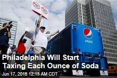 1st Major US City Brings in Soda Tax