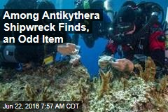 Among Antikythera Shipwreck Finds, an Odd Item