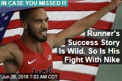 Runner's Success Story Is Wild. So Is His Fight With Nike