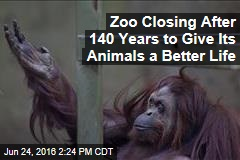 Zoo Closing After 140 Years to Give Its Animals a Better Life