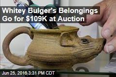 Whitey Bulger's Belongings Go for $109K at Auction
