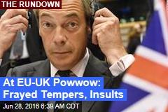 EU to UK: No Secret Brexit Talks