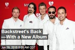 Backstreet's Back —With a New Album