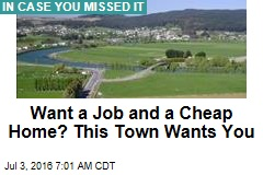 Want a Job and a Cheap Home? This Town Wants You