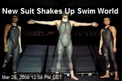 New Suit Shakes Up Swim World