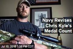 Navy Revises Chris Kyle's Medal Count