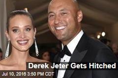 Derek Jeter Gets Hitched