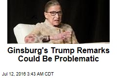 Did Ginsburg Go Too Far With Anti-Trump Remarks?