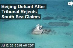 Beijing Defiant After Tribunal Rejects Sea Claims