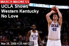 UCLA Shows Western Kentucky No Love