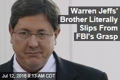 Warren Jeffs' Brother Literally Slips From FBI's Grasp