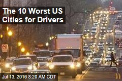 The 10 Worst US Cities for Drivers