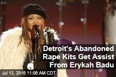Detroit's Abandoned Rape Kits Get Assist From Erykah Badu