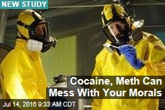 Cocaine, Meth Can Mess With Your Morals