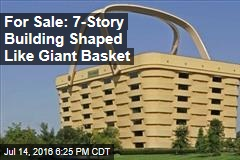 For Sale: 7-Story Building Shaped Like Giant Basket
