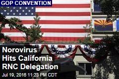 Norovirus Hits California RNC Delegation