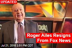 Roger Ailes Resigning, Says 21st Century Fox